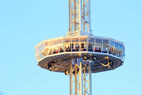 City Skyliner: Aus 72 Metern Höhe auf Bremen schauen