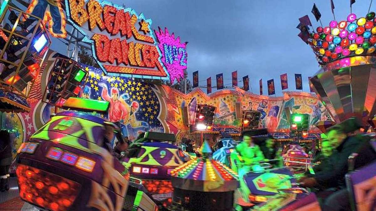 Der Break Dancer sorgt seit Jahrzehnten für Spaß auf dem Bremer Freimarkt.