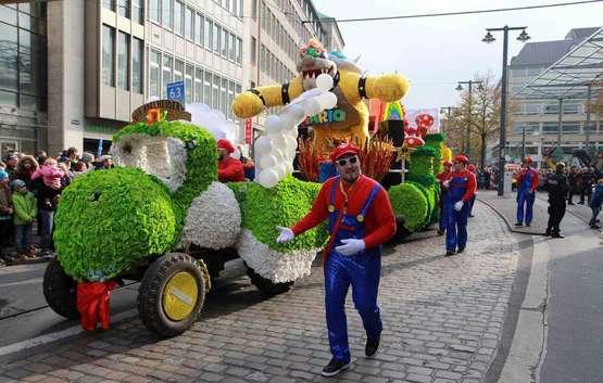 Zum 50. Mal schlängelt sich der Freimarktsumzug durch Bremen