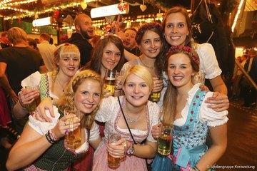So feierten die Besucher am zweiten Samstag auf dem Freimarkt