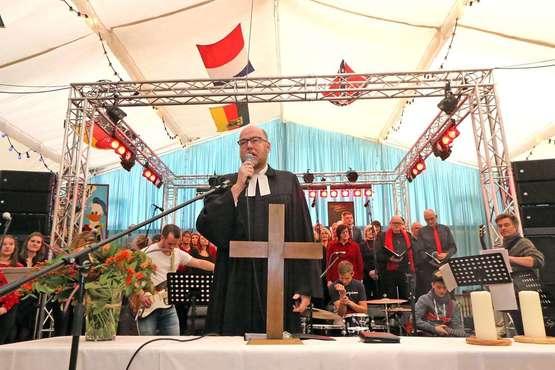 Gottesdienst auf dem Freimarkt: Rummel und Reformation