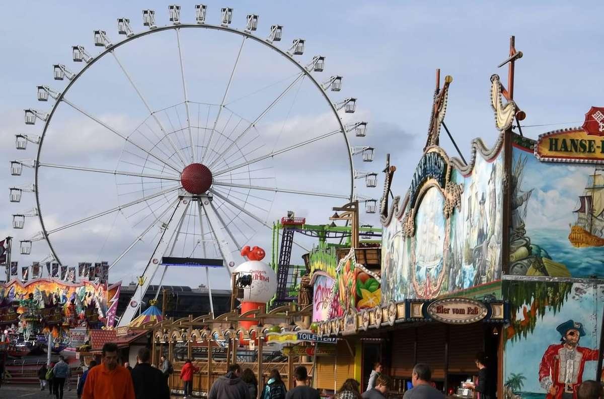 Mehr als vier Millionen Menschen besuchten in diesem Jahr den Bremer Freimarkt. Die Polizei notierte etwas mehr Straftaten als im Vorjahr.