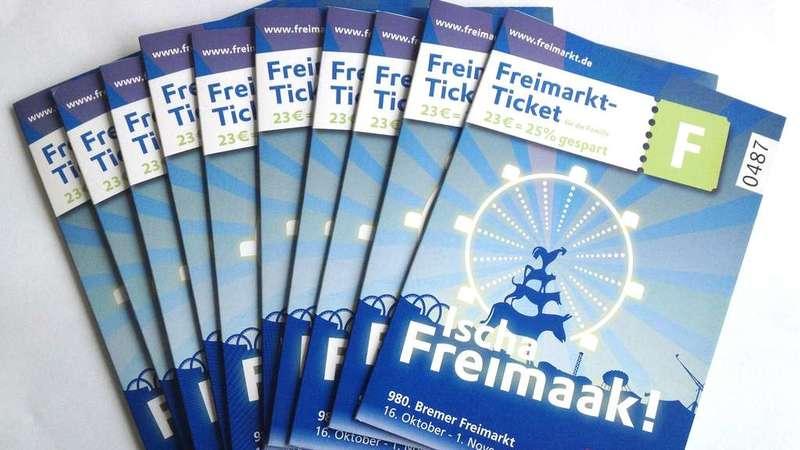 Das Freimarkt-Ticket bietet Karussell-Ermäßigungen für Kinder, Familien und Actionliebhaber.