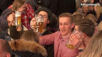 Osterwiese Bremen: Bayernzelt Premiere
