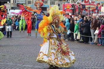 Bunter und fröhlicher Freimarktsumzug in Bremen