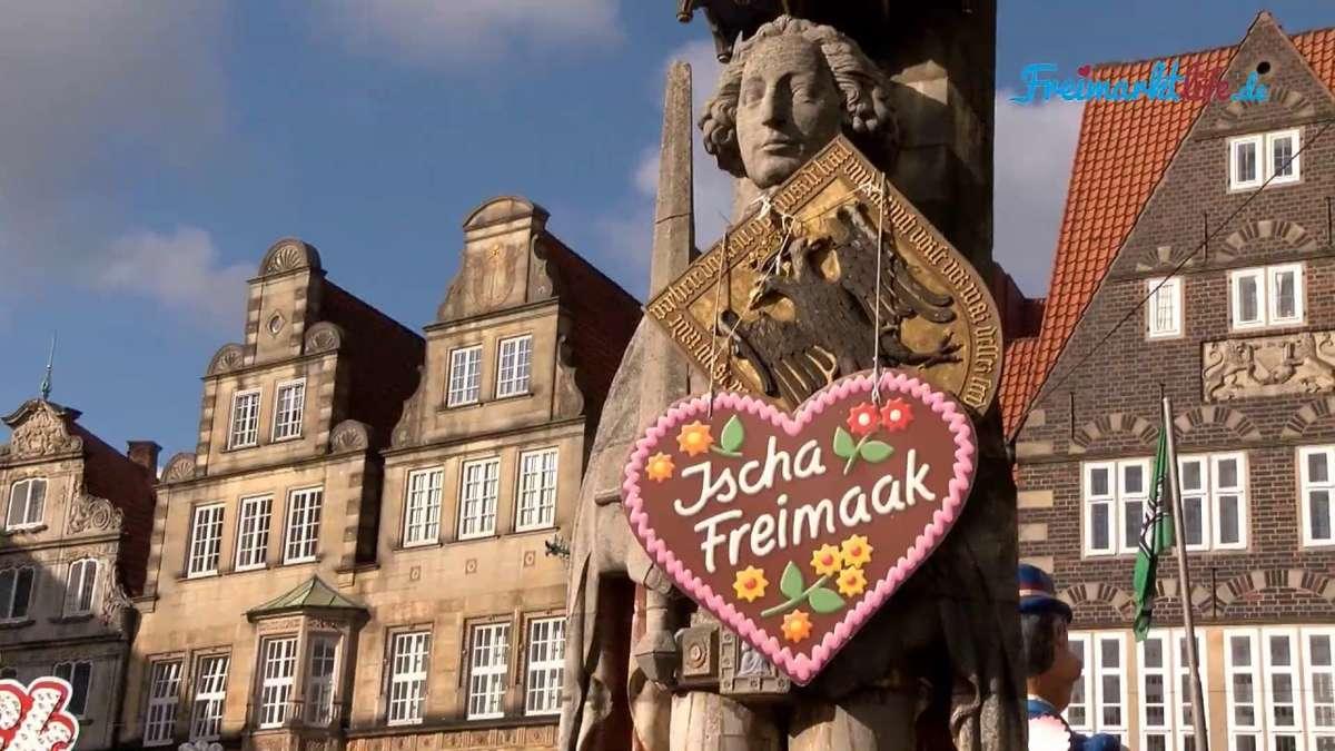 Kleiner Freimarkt Bremen - Nostalgie am Roland